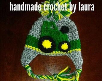 Crochet John Deere truck outfit 92384264af1