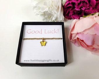 Bridal Good Luck Charm Gift Dangler Wedding Keepsake Blue Butterfly