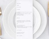 wedding menu template   E...