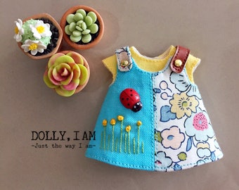 Flower Blooms Overall  for BJD Dolls Lati Yellow/PukiFee/Muichan/Secret doll 3M Ming Mong Meng bjd |  BiB for doll