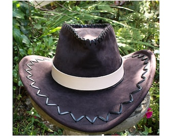 Plain leather hat band 7ae5860747f9