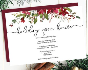 Holiday Open House Etsy