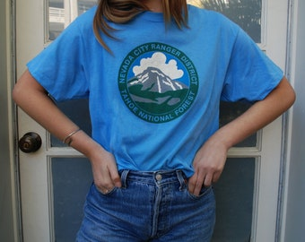 Vintage 80s Tahoe National Forest Tee