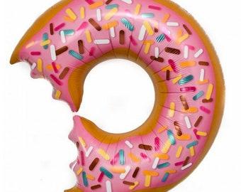 """25"""" Donut Balloons, Giant Donut Balloons, Donut Party, Donut Party Ideas, Donut Birthday Ideas, Donut Birthday, Donut Balloons"""