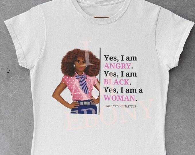 Angry Black Woman Tee