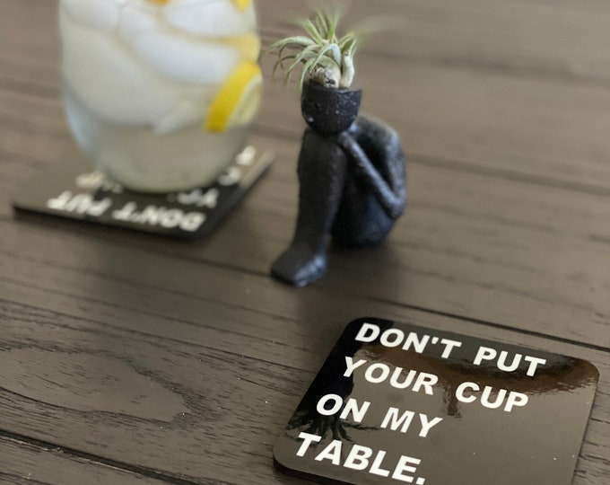 Don't Do It Coasters (set of four)