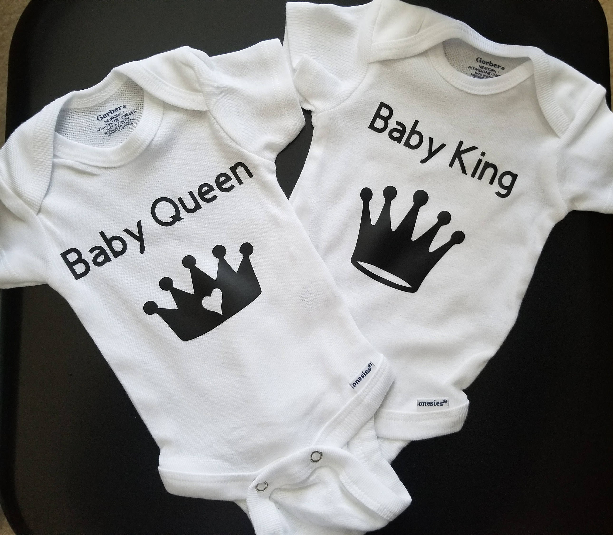 Baby Royalty Body Suits