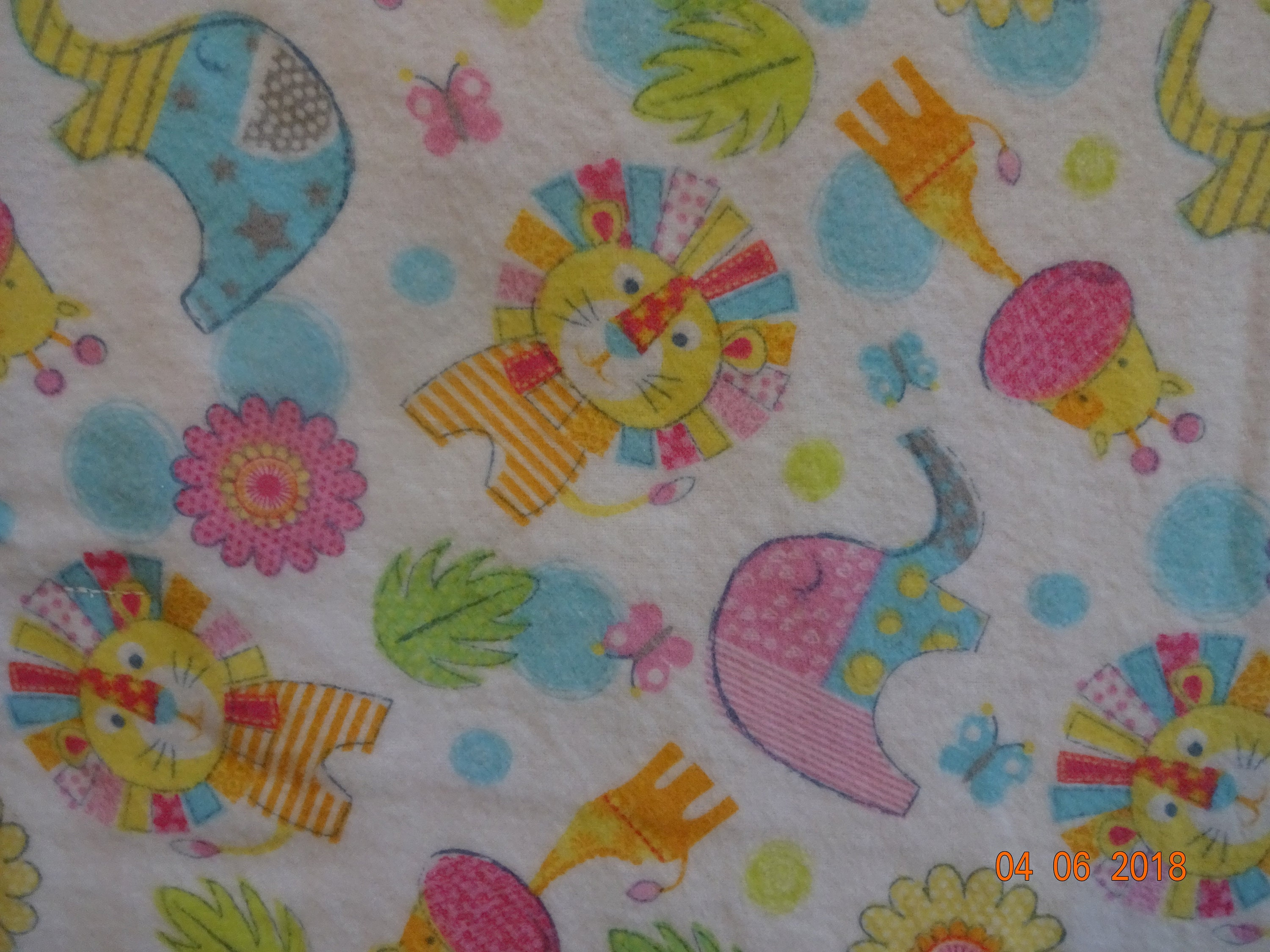 Handmade Cotton Flannel Blanket  b4a8fc884
