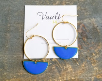 Roselyn Earrings - Blue