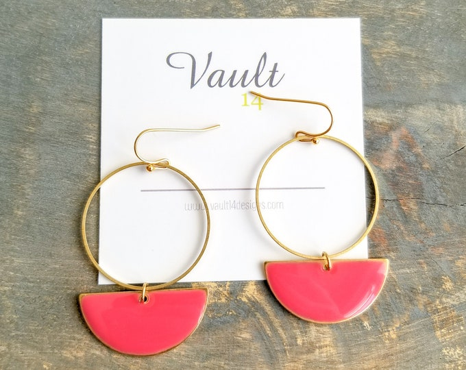 Roselyn Earrings - Pink