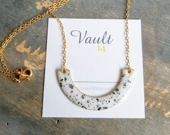Anna Necklace - White