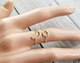 Sun & Moon Rings