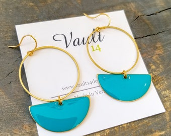 Roselyn Earrings - Turquoise