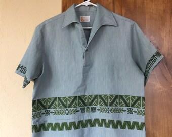 322865aa56b5 Vintage Hawaiian Shirt Iolani Size M