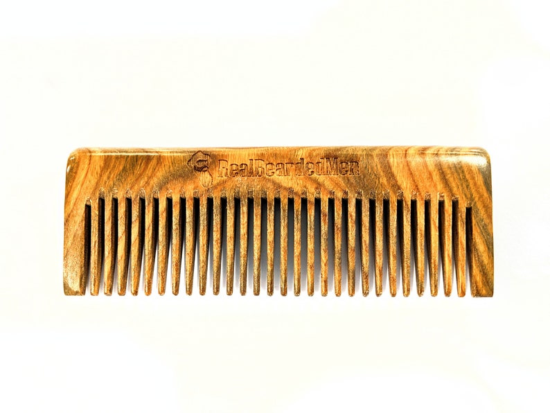 Real Bearded Men - Sandalwood comb 2 0