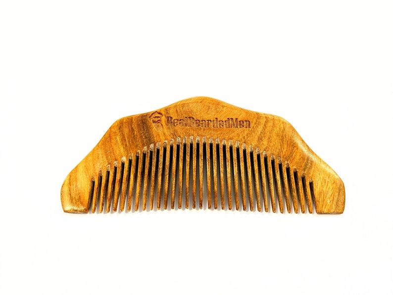 Real Bearded Men - Sandalwood Beard Comb