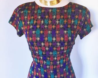 Vintage Multicolored Anne Klein II Blouse
