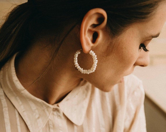 Stockholm pearl earrings