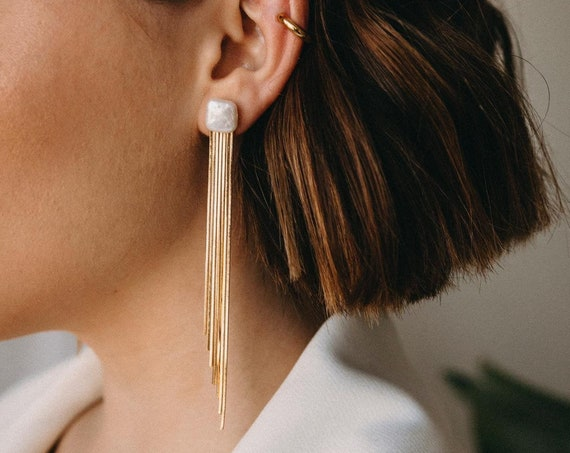 Flo Fringe Earrings