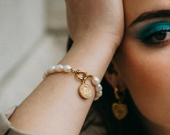 Steph Pearl Bracelet
