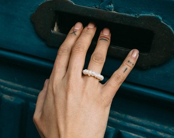 Carmo Pearl Ring