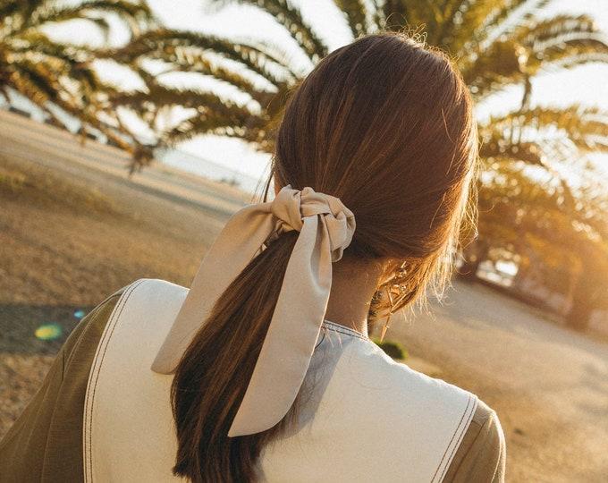 Amber Hair Scrunchie