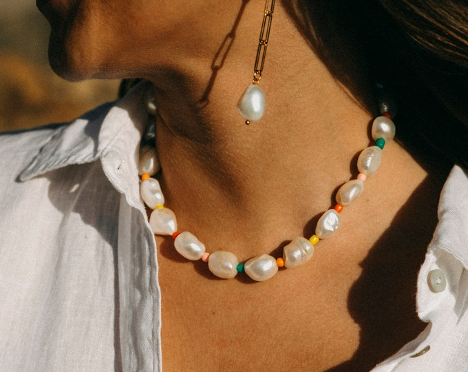 Joy Pearl Necklace