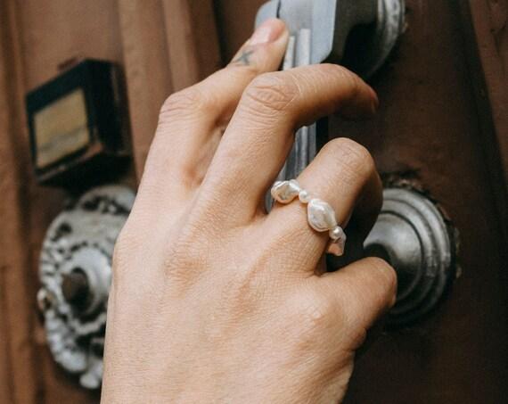 Marlene Pearl Ring