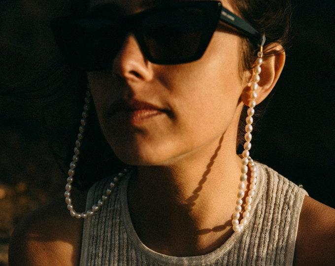 Chiara Sunglasses Pearl Strap