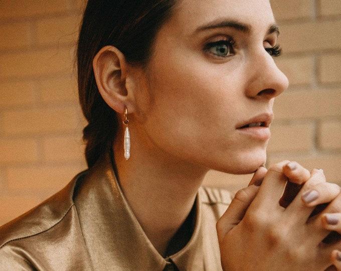Milan pearl earrings
