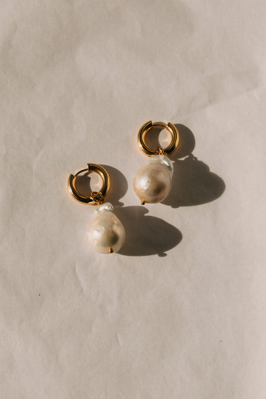 1ff00bb35 Florence pearl earrings