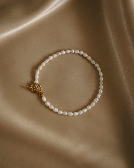 Viana Pearl Anklet