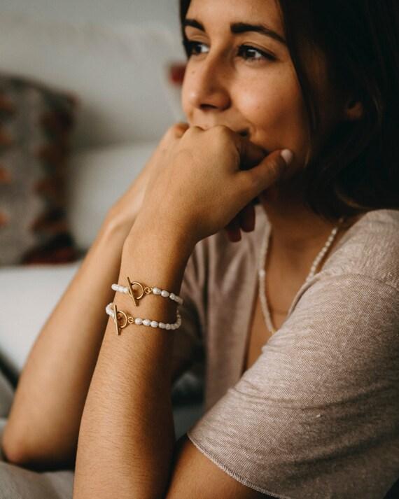 Faro Pearl Bracelet