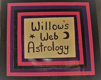 Willow's Web Astrology Tutoring or Lesson - 30 Minutes