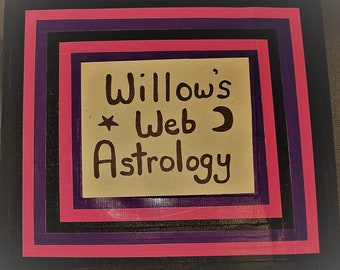 Willow's Web Astrology Tutoring or Lesson - 60 Minutes