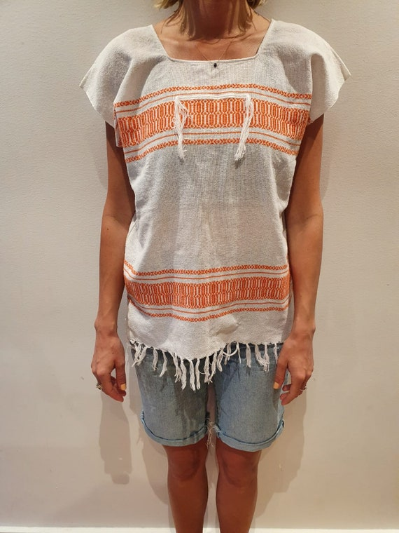 Mexican cotton weaved shirt