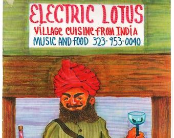 "Hindu Cuisine - 11""x14"""