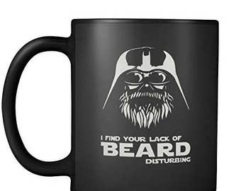 May the Fourth mug| May the 4th be with you| Father's day gift| Star Wars| May the 4th gift| Star Wars mug|Father's day mug| Funny Beard Mug