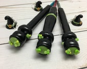 Witches Brew straight and ergonomic crochet hook, handmade crochet hook, Polymer clay crochet hook, crochet hook, Halloween, witches