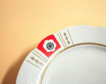 3 soviet vintage plates