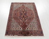 4 39 10 quot x 3 39 5 quot Excellent Hand-Knotted Fine Collectible Tribal Rug 3x5 Handmade Turkish Vintage Small Wool Carpet 2907