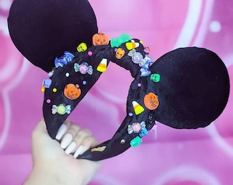 Smaller Mermaid Mickey Ears Tsum Tsum Ufufy Disney Personalized Gifts for Her Gift   Graduation Ears Gift Minnie Mouse Ears Headband