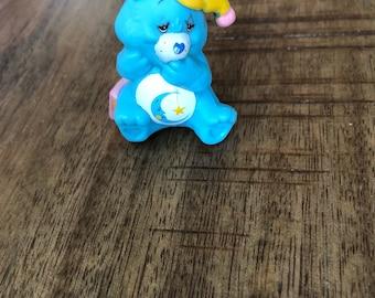 1983 Bedtime Bear Care Bear PVC Figure