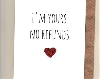 Funny anniversary card etsy funny anniversary card husband wife partner humour banter fun rude cheeky greetingcards no refunds m4hsunfo