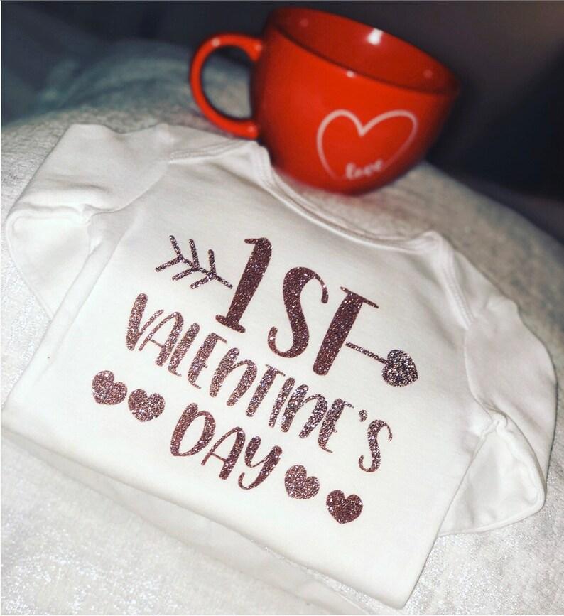 My first Valentine\u2019s Day onesiebodysuit