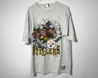 2f7703449 1990s Vintage Philadelphia Steelers Graphic Tee / Philly Steelers Nutmeg NFL  Football T-Shirt Hip Hop Clothing Streetwear - FREE SHIPPING