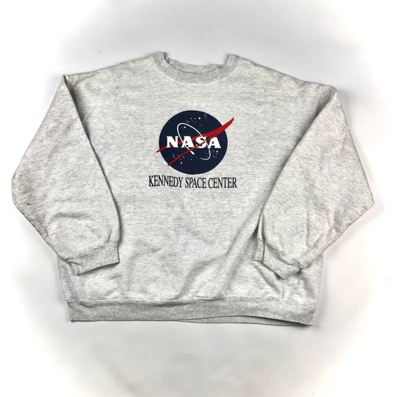 Vintage 90s Oversize Kennedy Space Center Aeorospace Aeronautic science and technology NASA made in USA