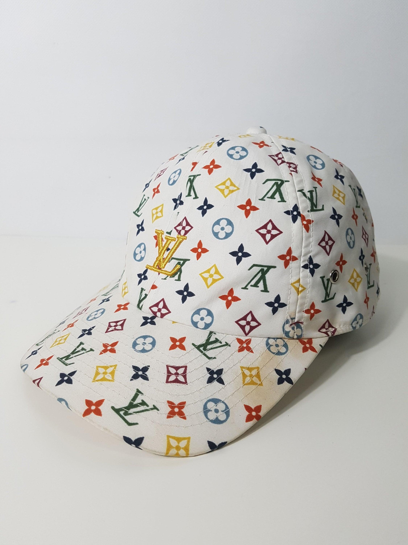Louis Vuitton Dad Hat   LV Print Designer Cap - 80s   90s Hip Hop Clothing  - Retro Throwback Streetwear - FREE SHIPPING 5336322fdd7