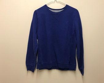 Vintage CHAMPION - Blue CrewNeck Sweater - Large