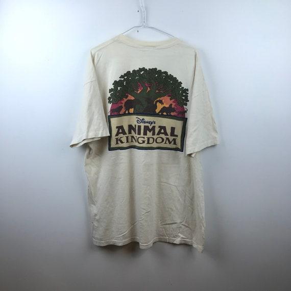 Vintage 90s - Disney Animal Kingdom -Big Print - C